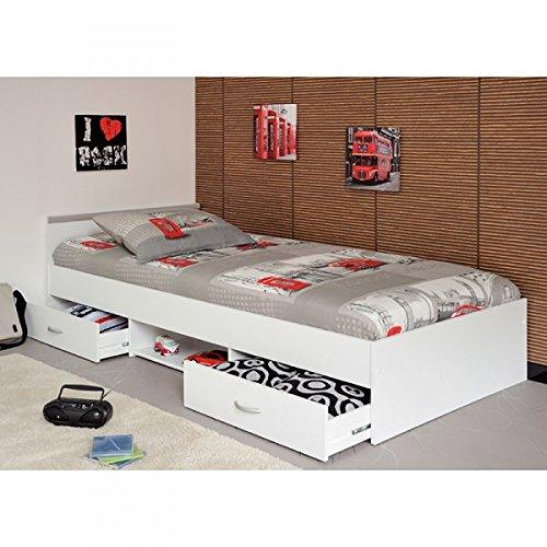 Funktionsbett-Alawis-90200-cm-wei-inkl-2-Roll-Bettksten-Kinderbett-Jugendbett-Jugendliege-Bettliege-Bett-Jugendzimmer-Kinderzimmer-1251