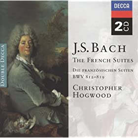 J.S. Bach: French Suite No.1 in D minor, BWV 812 - 1. Allemande