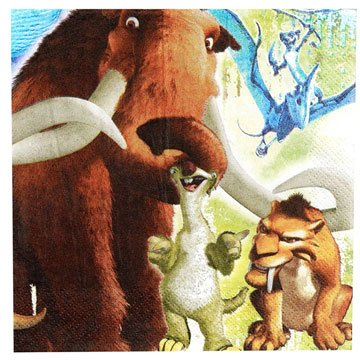 Ice Age Lunch Napkins 16ct - 1
