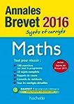 Annales 2016 Maths 3E