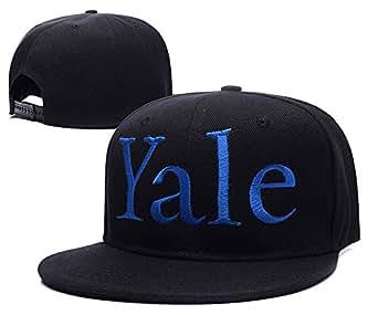 yale logo adjustable snapback caps