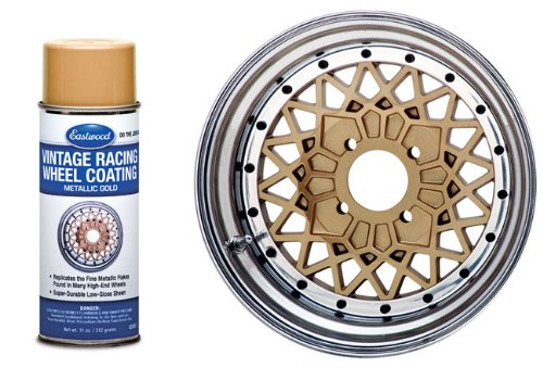 Eastwood Vintage BBS Racing Mag Wheel Gold Spray Paint