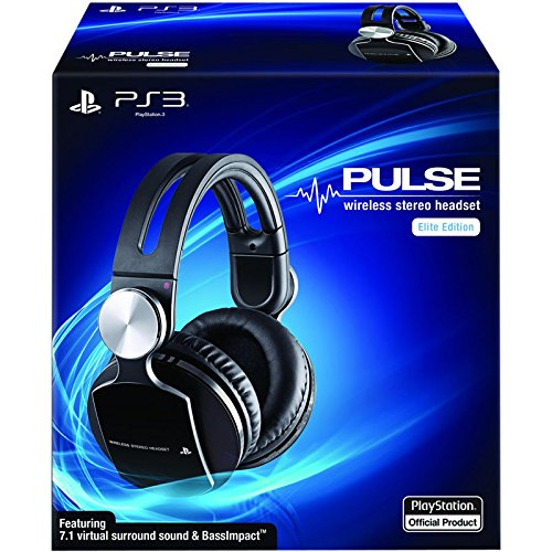 Ps3 Pulse Wireless Stereo Headset Elite