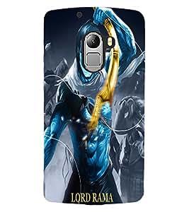 ColourCraft Lord Rama Design Back Case Cover for LENOVO VIBE X3 LITE