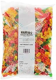 Haribo Gummi Candy Gold-Bears, 5-Poun…