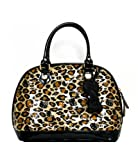 ? Hello Kitty Leopard Patent Embossed Tote Bag By Loungefly Leopard Patent