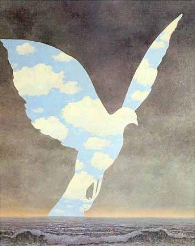 Oeuvres surr alistes for Magritte le faux miroir