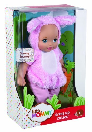 Little Mommy Dress Up Cuties Bunny Doll by Little Mommy (English Manual)