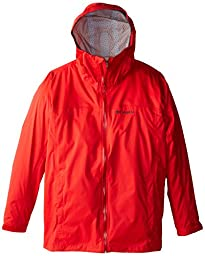 Columbia Sportswear Men\'s EvaPOURation Jacket, Bright Red, 3X