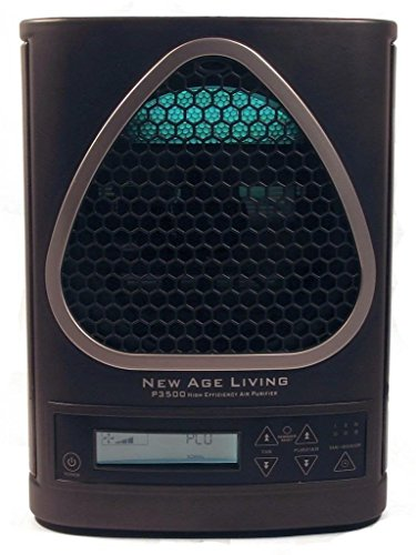New New Age Living P3500 High Efficiency Air Purifier W Lcd Display & Remote
