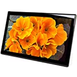 Micca M1709Z 17-Inch 1600x900 High Resolution Digital Photo Frame With 8GB USB Memory, Auto On/Off Timer, MP3 and Video Player (Black)