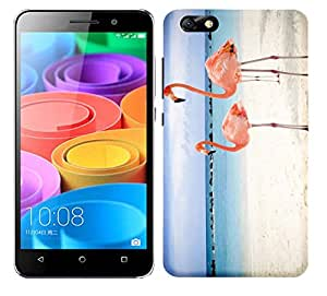 WOW Printed Designer Mobile Case Back Cover For Huawei Honor 4X