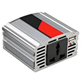 TRIXES 150W WATT USB Car Power Inverter DC 12V to AC 220V