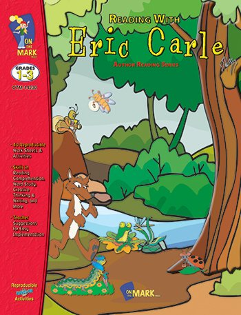 On The Mark Press OTM14230 Reading with Eric Carle Gr. 1-3