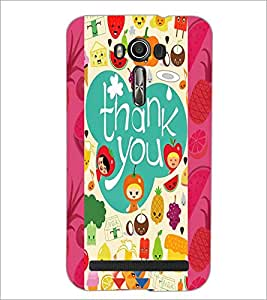 PrintDhaba Abstract Image D-4983 Back Case Cover for ASUS ZENFONE 2 LASER ZE550KL (Multi-Coloured)