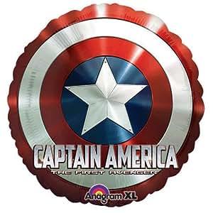 "Captain America Shield Marvel Comics 18"" Mylar Balloon"