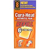 Cura Heat Arthrititis Pain Refill 6