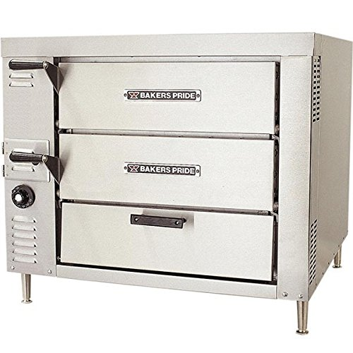 Bakers Pride HearthBake GP-52 Double Counter Top Pizza and Baking Gas Oven, 32 5/8 x 31 1/2x 54 1/4 inch -- 1 each.