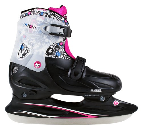 Monster High Creepy Cool Girl's Ice Skates schwarz/pink/weiß