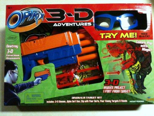 Optrix 3-d Adventure Dinosaur Target Set