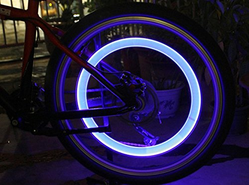 Moon Gazer Colorful Motorcycle Spoke Wheel Lights/Bicycle Spoke Led Lights/Led Spoke Light/ Tyre Valve Dust Cap Safety Light