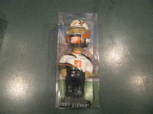 Tony Stewart #20 Home Depot Bobble Dobbles Mini Bobblehead Bobble Head Doll 3 Inches High Tall