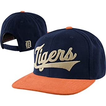 MLB Limited Edition Retro Detroit Tigers Script Wool Blend Crown With Cordoroy Detail... by American Needle