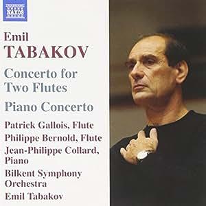 Tabakov: Concerto for 2 Flutes / Piano Concerto