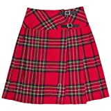 Womens Tartanista Long Royal Stewart Red Tartan/Plaid 23