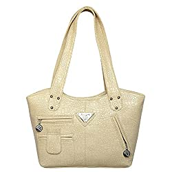 Mooi-Zak Women's Shoulder Handbags Off White (Flp2pkt)