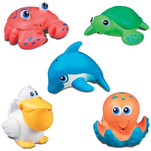 Munchkin Five Sea Squirts Bath Toys