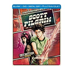 Scott Pilgrim vs. the World (Steelbook) (Blu-ray + DVD + Digital Copy + UltraViolet)