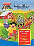 Fisher Price - Little People Animal Classics Music CD and DVD set.