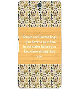 SONY XPERIA C5 QUOTE Back Cover by PRINTSWAG