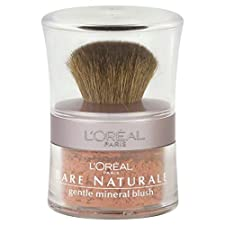 Loreal Bare Naturale Gentle Mineral Blush, Soft Rose 488, 0.15 oz (4.5 g)
