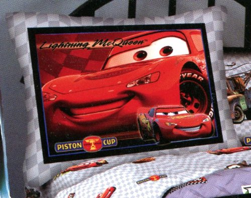 Disney Cars Lightning McQueen Piston Cup Pillow Sham