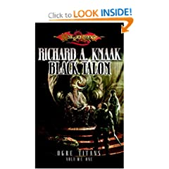 The Black Talon (Dragonlance: Ogre Titans, Vol. 1) by Richard A. Knaak