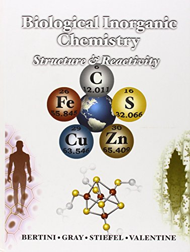 Biological Inorganic Chemistry: Structure and Reactivity