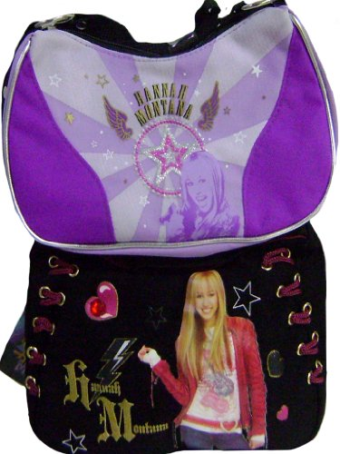 Hannah Montana Girls Shoulder Bags Set of Two