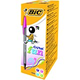 BiC Cristal Large Fun Ball Pen Smoked Barrel 1.6mm Tip 0.6mm Line Assorted Ref 895793 (Pack of 20)