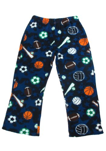 Capelli New York Boys All Star Sports Micro Cozy Lounge Pant Blue Med