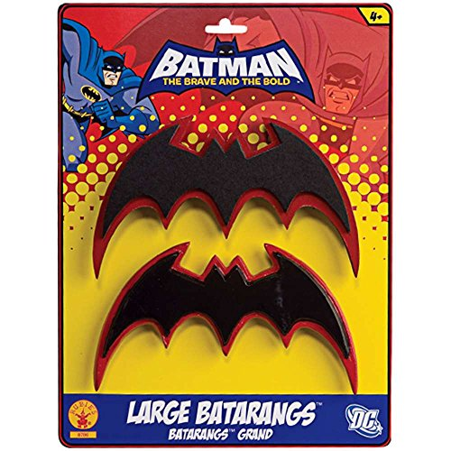 Rubies Batman The Brave and Bold Costume Batarangs
