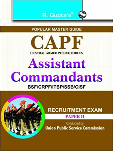 CAPF Assistant Commandants Recruitment Exam (Paper - 2) price comparison at Flipkart, Amazon, Crossword, Uread, Bookadda, Landmark, Homeshop18