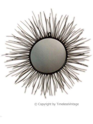 Metal Wall Art Mirror Sun Decor 20