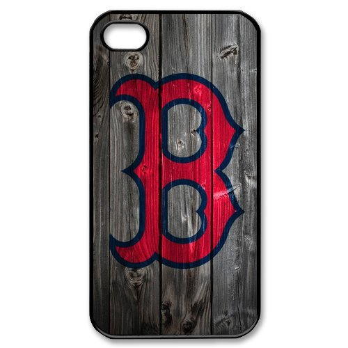 Boston Red Sox Logo iPhone 4 4S Best Durable Cover Case at Amazon.com