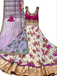 Shree Ganesh Women's Silk Unstitched Dress Materials [D95]