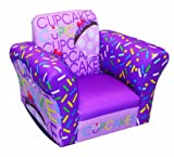 Newco Kids Cup Cake Collection Small Standard Rocker, Lavender