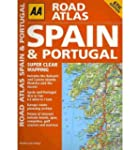 AA Road Atlas Spain and Portugal (Spi...