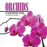 Orchids Calendar 2016: 16 Month Calendar