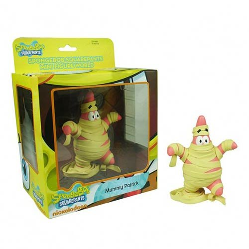 Spongebob Squarepants Mini Figure World - Mummy Patrick